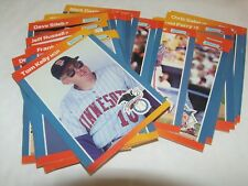 24  x LEAF  1988   American Baseball Cards
