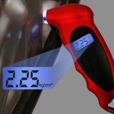 Medidor de Presión de Neumáticos Tester Digital Lcd herramienta de medición de Motocicleta Bicicleta Van