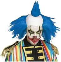 Twisted Clown Blue Wig Krusty The Simpsons Costume Klown Halloween Costume