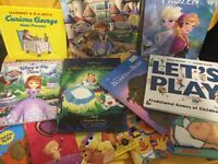 Lot of 10 Childrens BOARD Hardcover BABY TODDLER DAYCARE Kids BOOKS *RANDOM MIX*