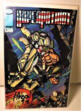Image Comics Super Patriot #1 Signed by Artist Dave Johnson