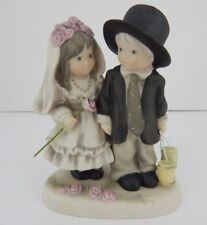 Pretty As A Picture Promises Of Love Wedding Couple Store Displayed w/Box