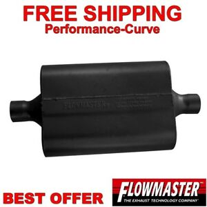 "Flowmaster Super 44 Series Muffler 2.5"" C/C 942545"
