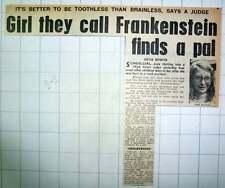 1970 Brave Schoolgirl Jane Halling Awarded Damages Purley Todd's Green Stevenage