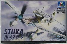 ITALERI 070 - STUKA JU-87 D-5 - 1:72 - Flugzeug Modellbausatz - Kit - NEU&OVP