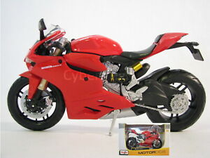 Maisto Ducati 1199 Panigale 1:12 Scale Model Motorcycle Brand New In The Box