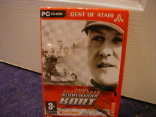 Michael Schumacher Worldtour Kart PC Game Atari and
