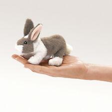 *NEW* PLUSH SOFT TOY 2727 Folkmanis Mini Bunny Rabbit Finger Puppet 12.5cm
