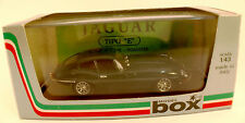 "Model Box Italy -8440- Jaguar E ""inglese"" 1/43 en boîte"