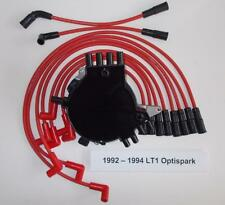 CAMARO/FIREBIRD 92-94 LT1 5.7L 350 OPTISPARK Distributor & RED Spark Plug Wires