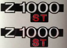 KAWASAKI Z1000ST SHAFT SIDE PANEL DECALS