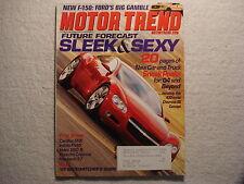 Motor Trend 2003 March Ford F150 Cadillac SRX Porsche Cayenne Volvo Infiniti