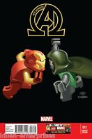 New Avengers #11 LEGO Variant Comic Book 2013 INFINITY - Marvel