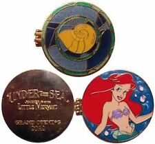 DISNEY PIN CAST NEW FANTASYLAND LITTLE MERMAID ARIEL UNDERSEA GRAND OPENING 2012