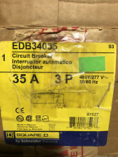 Square D Type Edb Circuit Breaker 3 Pole 35 Amp Edb34035