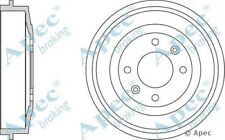2x OE Quality Replacement Rear Axle Apec Brake Drums 4 Stud 228.5mm