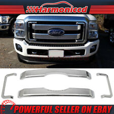Fits 11-16 Ford F250 350 450 Platinum Style Superduty Front Mesh Grill Grille