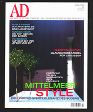 AD ARCHITECTURAL DIGEST April 2005 Mittelmeer Style