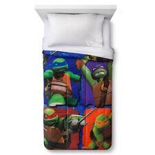 Teenage Mutant Ninja Turtles Microfiber Twin Comforter Sheet Set Blanket NEW