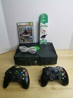 Microsoft Original XBOX Video Game System Bundle, 2 Controllers, Cords #WORKING#