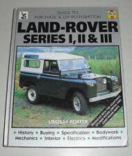 Restaurierungsanleitung Land Rover / Landrover Series I, II + III, Bj. 1948-1984