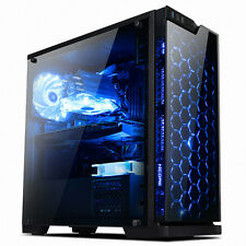 """NEW"" ABKO SAPPHIRE Tempered Glass & Acrylic Computer Case"" ""FREE EMS"""