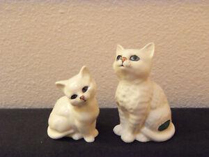 mother cat & kitten Beswick china England vintage 60's set