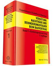 Einheitspreisvertrag Markus, Jochen Kapellmann, Klaus D. Schiffers, Karl-Heinz