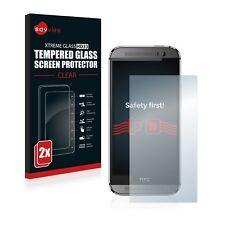 2x VITRE PROTECTION VERRE TREMPE pour HTC One M8 / M8s Film protecteur écran