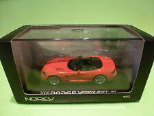 NOREV  1:43  DODGE VIPER SRT 10    2006    - GOOD CONDITION IN BOX