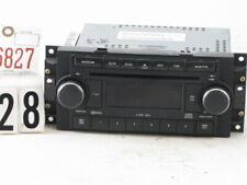 New listing 04-08 Chrysler Dodge Jeep Radio 6 Disc Cd Mp3 Player P05064072Ad