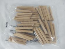 Wood Dowels for Arts & Crafts Woodworking 48 cnt (3/8