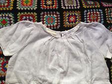 TOP TUNIQUE 10 12 ans MONOPRIX ETHIQUE TBE CHEMISE coton biologique blouse