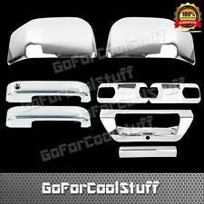 2015 Ford F-150 2Drs+Base Plate+Mirror+Tailgate W/Camerahole Chrome Covers