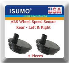 Set 2 ABS Wheel Speed Sensor Rear-Left & Right Fits: Lexus & Toyota