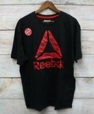 Reebok Performance Shirt Mens Size Medium Regular Fit Black Recon Camo Shirt New