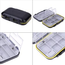Waterproof Fishing Tool Bait Tackle Storage Box with 12 Compartments USA SELLER