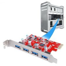 [For Mac Pro 4 Ports] Inateck 4 Ports PCI-E to USB 3.0 Expansion Card for Mac...
