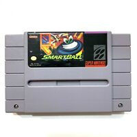 SmartBall SNES Super Nintendo Game - Tested - Working - Authentic!