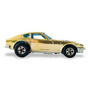 Vintage Hot Wheels Datsun Z Whiz Golden Machines ©1976 NICE