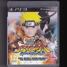 Naruto Shippuden: Ultimate Ninja Storm Generations (PS3) Anime Fighting Game PAL