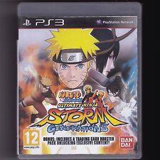 Naruto Shippuden: Ultimate Ninja Storm Generations (PS3) Anime Fighting Game PAL