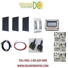 Solar Panel KIT Panneau Solaire 40A MPPT Charger 480 W Mono Watt 3 * 160 12V RV