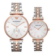 Emporio Armani Couple Watches AR1683 AR1677 - 2 Years Warranty