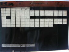 Kawasaki KZ750 LTD 1981- 1982 Parts Microfiche NOS k388