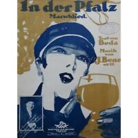 BENES J. En der Pfalz Chant Piano 1927 partitura sheet music score