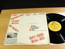 BEATLES The American Tour With ED RUDY Radio Pulsebeat News NM! No Book