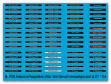 Peddinghaus-Decals 1/35 2451 Ärmelbänder der Propagandakompanie & Polizei