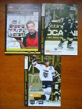 New listing 3 x Nottingham Panthers Ice Hockey Programmes (2010)