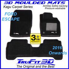 For Ford Escape 2016 - 2020 Genuine 3D moulded Black Carpet Car Mats